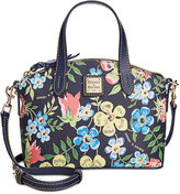 Dooney & Bourke Garden Floral Ruby Mini Satchel