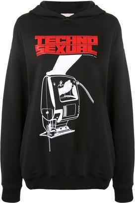 Christopher Kane Techno Sexual hoodie
