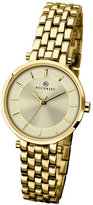 Accurist Ladies' Yellow Gold-Plated Bracelet Watch
