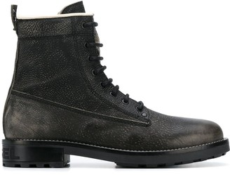 Diesel Combat Ankle Boots