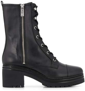 MICHAEL Michael Kors lace-up leather ankle boots