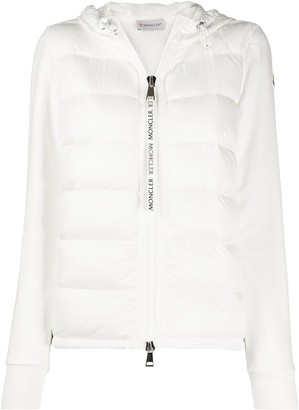 Moncler Feather-Down Padding Hooded Jacket