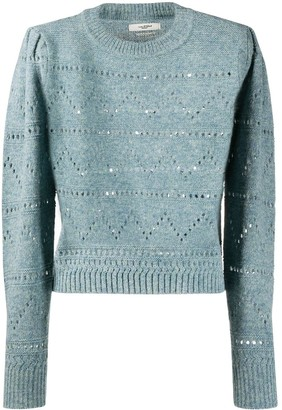 Etoile Isabel Marant Perforated Knit Jumper