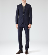 Reiss Riva TWO BUTTON TEXTURED SUIT