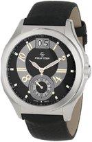 Philip Stein Teslar Men's 16-HRGB-MMB Prestige Black and Rose Gold Dial Black Matte Max Strap Watch