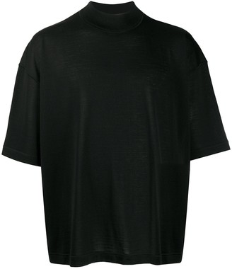 Jil Sander oversized-fit knitted T-shirt