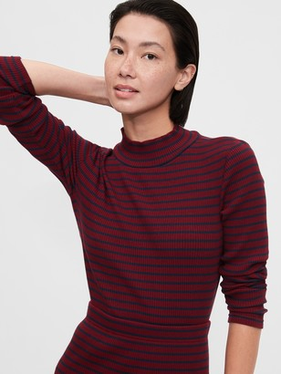 Gap Ribbed Turtleneck T-Shirt