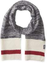 Muk Luks Men's Marl Sock Stripe Basic Scarf