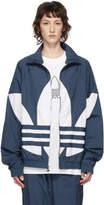 adidas Blue Big Trefoil Track Jacket