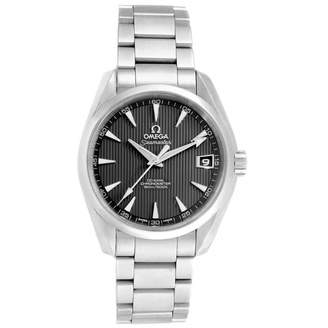 Omega Seamaster Aquaterra Grey Steel Watches