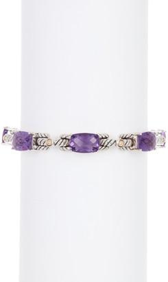 Effy Sterling Silver Crystal Charm Bracelet