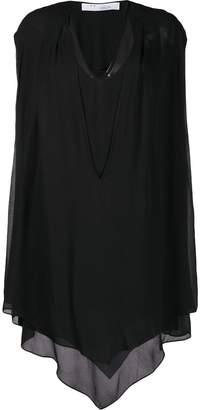 IRO draped asymmetric dress