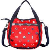 Le Sport Sac LG8056 Jenny Zip Top Hobo Bag