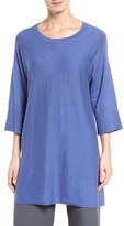 Eileen Fisher Women's Organic Cotton Knit Tunic