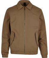 River Island Mens Brown harrington jacket