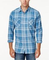 Weatherproof Vintage Men's Yarn-Dye Plaid Long-Sleeve Shirt, Classic Fit