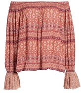 Kas Women's Kailey Print Off The Shoulder Top