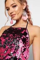 boohoo Kallie Statement Figtree Tassel Earrings