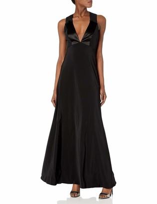 Jill Stuart Jill Women's Chiffon Crisscross Back Gown
