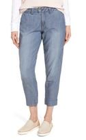 Jag Jeans Women's Creston Crop Chambray Pants