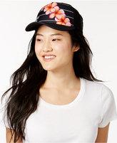 Hurley Juniors' Floral-Print Snapback Hat