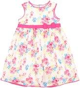 Jo-Jo JoJo Maman Bebe Floral Party Dress (Baby) - Fuchsia-0-3 Months