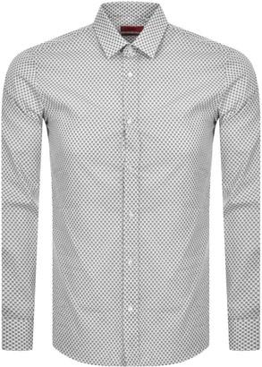 HUGO BOSS Elisha 02 Long Sleeved Shirt White