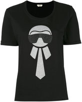 Fendi Karlito Cotton T-shirt