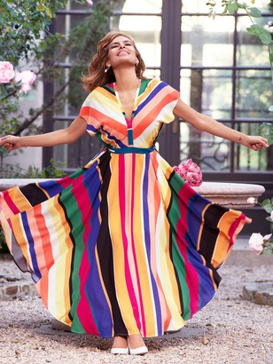 New York & Co. Anais Kimono Maxi Dress - Eva Mendes Collection
