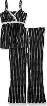 Belabumbum Women's Dottie Maternity and Nursing Cami Top & Pant Pajama Set