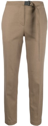 Brunello Cucinelli Cropped Belted Trousers