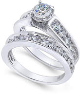 Macy's Certified Diamond Bridal Set (2 ct. t.w.) in 14k White Gold