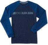 Calvin Klein Logo-Print Shirt, Big Boys (8-20)