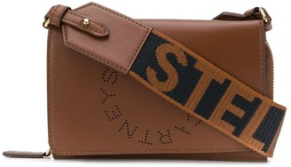 Stella McCartney Stella Logo crossbody wallet