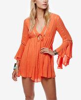 Free People Romeo Bell-Sleeve Mini Dress