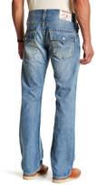 True Religion Distressed Detail Flap Pocket Straight Jean