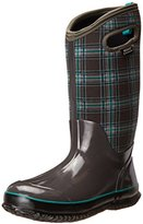 Bogs Women's Classic Winter Plaid Tall Snow Boot