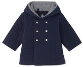 Petit Bateau Baby quilted hooded jacket