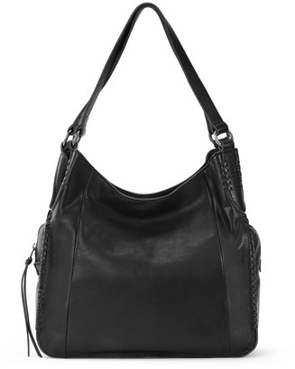 The Sak Collective Salinas Triple Compartment Leather Hobo Bag