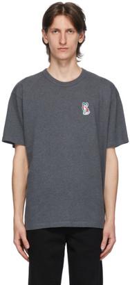 MAISON KITSUNÉ Grey ACIDE Fox T-Shirt