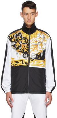 Versace White Barocco Track Jacket