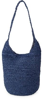 Marabelle Woven Straw Hobo Bag