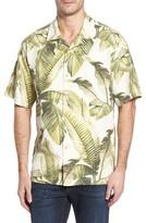 Tommy Bahama Men's Big & Tall Cascara Fronds Classic Fit Silk Camp Shirt