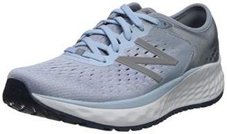 New Balance Women's Fresh Foam 1080 Running Shoes, Blue (Light Blue), (36 EU)
