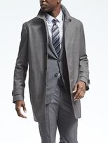 Banana Republic Water-Resistant Wool Mac Jacket
