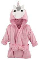 Luvable Friends Pink Unicorn Hooded Bathrobe