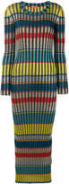 Missoni striped glitter maxi dress