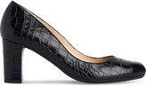 LK Bennett Sersha crocodile-embossed courts