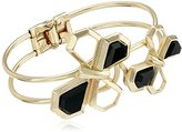 Kensie Hinge with Geo Butterfly Split Bracelet