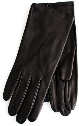 Ivory Blush Store Jackie Italian Leather Gloves Cashmere lined (7/5